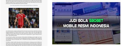 berita mengenai bandar bola resmi di sbobet indonesia